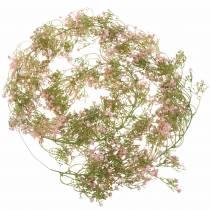 Slinger gypsophila roze 180cm