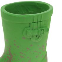 Mini plant pot rubberen laarzen 10,5 cm 6 stks