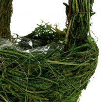 Handvat mand mos Ø18cm H27cm groen