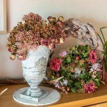 Herfstkrans chrysant paars Ø30cm