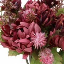 Chrysanthemum boeket mix paars 35cm
