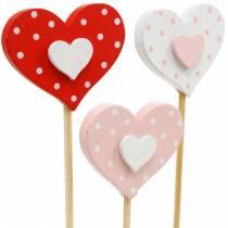 Decoratieve plug hart, huwelijksdecoratie, bloemdecoratie voor Valentijnsdag, hartdecoratie 24st