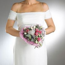 Steekschuim bruidsboekethouder Ø7cm 16cm 6st
