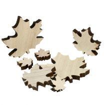 Houten bladeren, esdoornbladeren mix 2,5cm - 7cm 36p