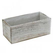 Plantenbak, sierbak, plantenbak, houten vat L25cm