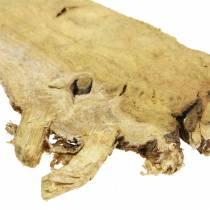 Decoratieve houten schijven naturel 1kg
