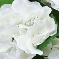 Hortensia in bloempot Kunst Wit 35cm