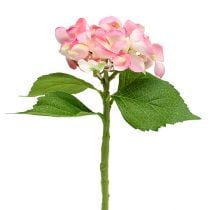 Hortensia roze 33cm