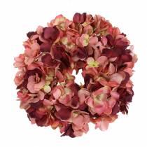 Hortensia krans Bourgondië Ø30cm