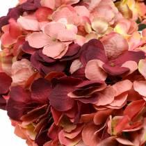 Hortensia krans Bourgondië Ø44cm