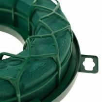 OASIS® IDEAL universele ring steekschuimkrans groen H4cm Ø18,5cm 5st