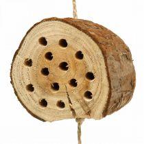 Insectenhotel hout H65cm nesthulp om op te hangen