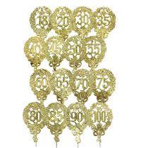 Jubileumnummers goud