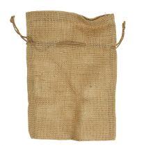 Jute zakken naturel 16cm x 24cm 10st