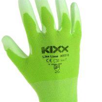Kixx tuinhandschoenen maat 7 lichtgroen, limoen