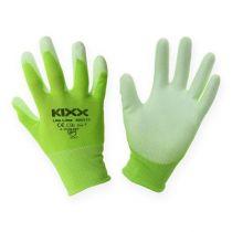 Kixx tuinhandschoenen lichtgroen, limoen maat 10