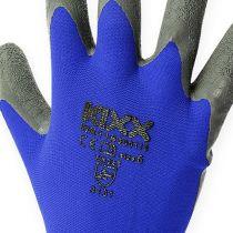 Kixx tuinhandschoenen blauw, zwart maat 10