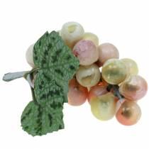 Kunstmatige mini druiven groen 9cm