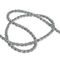 Koordlint zilver 4mm 25m