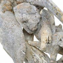 Krans wortelhout grijs natuurlijke decoratie wortelkrans Ø40cm H9cm