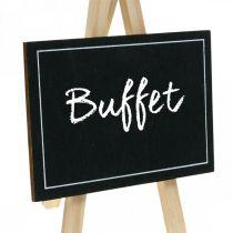 Krijtbord, tafeldecoratie, decobord, huwelijksdecoratie, houten bord 6st