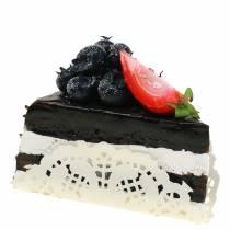 Cakestuk chocolade kunstmatig 10cm