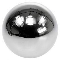 RVS ballen decoratie Ø8cm 6st