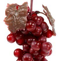 Kunst fruit druiven rood 22cm