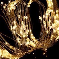 LED-lichtbundels voor binnen en buiten 640 mm 1,9 m zilver / warm wit