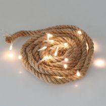 LED lichtsnoer voor binnen LED slinger 190cm 20L warm wit