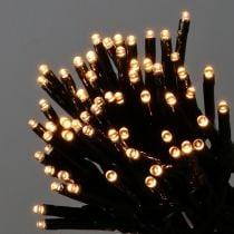 LED rijstlichtketting voor buiten 480s 36m zwart / warm wit