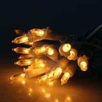 LED-miniketting 20L wit warm wit 3m