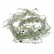 Larikslinger groen / ijs met kegels 180cm