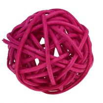 Lataball assortiment 3cm roze / lila 72st