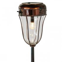 Lantaarn op zonne-energie om in te pluggen, LED buis licht Ø13,5cm L58cm H21cm