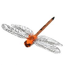 Libellen op de clip 6.5cm x 8.5cm 12st
