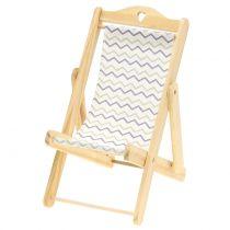 Decoratieve ligstoel zigzagpatroon H15cm 3 stks