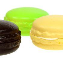 Macaron decoratie meringue geassorteerde kleuren 5cm 8 stuks