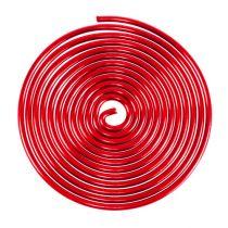 Aluminium draadschroef metaal schroef rood 2mm 120cm 2st