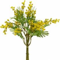 Mimosa gele kunstplant bundel 39cm