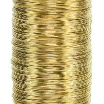 Mirte draad goud 0.30mm 100g