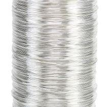 Mirtedraad zilver 0.30mm 100g