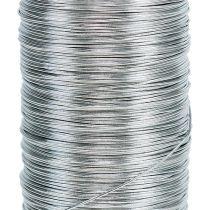 Mirtedraad zilver gegalvaniseerd 0.37mm 100g