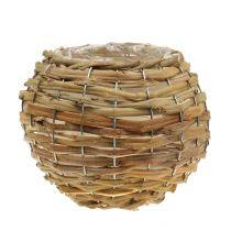 Basketbal voor het planten lichtbruin Ø16cm