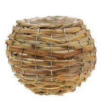 Basketbal voor het planten lichtbruin Ø21cm