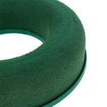 Steekschuim ringkrans groen H4,5cm Ø17cm 6st