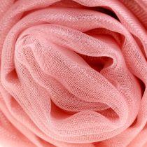 Decoratieve stof organza oud roze 150cm x 300cm