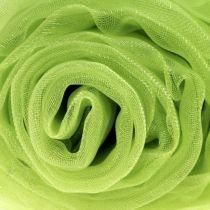 Organza decor stof groen 150cm x 300cm