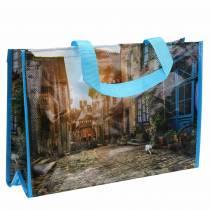 Boodschappentas met hengsels Bretagne plastic shopper 45 × 14 × 30 cm