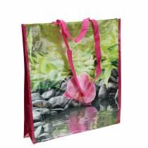 Boodschappentas met handvatten Geluk kunststof 38 × 10 × 40cm